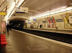 Métropolitain, station Victor-Hugo - Français:   Station Victor Hugo de la ligne 2 du métro de Paris, France.