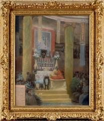 Musée Guimet - Cérémonie bouddhique au musée Guimet le 27 juin 1898