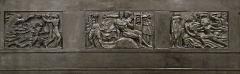 Palais d'Iéna, ancien Musée des Travaux Publics, actuel Conseil économique et social -  Étude au 1/5è de la frise du théâtre des Champs-Elysées