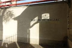Pavillon de Balzac, actuellement musée -  Balzac's house @ Paris