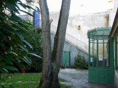 Pavillon de Balzac, actuellement musée -  Maison de Balzac de Paris