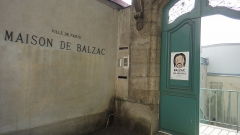 Pavillon de Balzac, actuellement musée - English: The gate of the Balzac's house, in France.