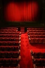 Ancien théâtre, actuellement cinéma Ranelagh - Français:   La salle