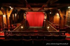 Ancien théâtre, actuellement cinéma Ranelagh - Français:   Vue du balcon