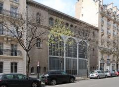Sous-station Auteuil - Français:   Sous-station Auteuil, 2 bis rue Michel-Ange (Paris, 16e).