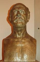 Ecole normale de musique Alfred Cortot - Français:   Buste d\'Auguste Perret exposé dans la Salle Cortot à Paris (Buste fait par Antoine Bourdelle, (October 30, 1861 - October 1, 1929))