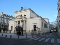 Eglise Sainte-Marie-des-Batignolles - English: The church Sainte Marie des Batignolles, Paris 17th arr., France