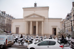 Eglise Sainte-Marie-des-Batignolles - English: Church Sainte-Marie-des-Batignolles, Paris, France.