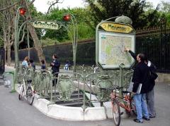 Métropolitain, station Monceau - Français:   Métro de Paris - ligne 2 - Station Monceau (France) -
