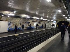 Métropolitain, station Villiers - Français:   Station Villiers, de la ligne 2 du métro de Paris, France.