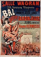 Salle Wagram -  Salle Wagram, 39, Avenue Wagram. Bal... Ouverture du Jardin d'Hiver: affiche