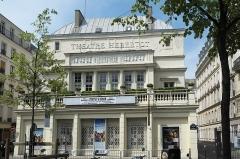 Théâtre des Arts  , actuellement théatre Hébertot - Deutsch: Théâtre Hébertot am Boulevard des Batignolles im 17. Arrondissement in Paris (Île-de-France/Frankreich)