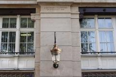 Immeuble (usine électrique) - Deutsch: Gewerbegebäude 53, rue des Dames in Paris (17. Arrodissement), Architekten: J. Denfer und Paul Friesé