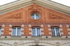 Immeuble (usine électrique) - Deutsch: Gewerbegebäude 53, rue des Dames in Paris (17. Arrodissement), Architekten: J. Denfer und Paul Friesé (1890)