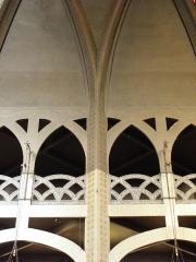 Eglise Saint-Jean-de-Montmartre - Tribunes et voûtes de l'église Saint-Jean de Montmartre à Paris (75018).