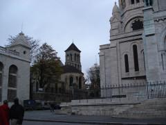 Eglise Saint-Pierre-de-Montmartre - English: Street View from Paris