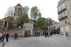 Eglise Saint-Pierre-de-Montmartre -  Chevet et clocher de l'église Saint-Pierre de Montmartre à Paris (75).