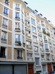 Immeuble - Français:   Paris 18ème arrondissement - Immeuble 7 rue de Trétaigne