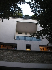 Maison de Tristan Tzara -  View of the house of Tristan Tzara in Paris, 15 Avenue Junot in Paris 18th arrondisement. Constructed by the Austrian architect Adolf Loos in 1926.