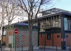 Marché de la Chapelle - Français:   Paris 18ème arrondissement - Marché de la Chapelle, rue de Torcy