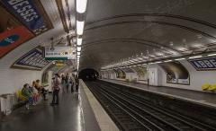 Métropolitain, station Abbesses - English: Abbesses (Paris Metro)