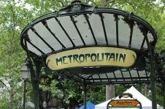 Métropolitain, station Abbesses -  Metropolitana di Parigi