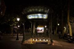 Métropolitain, station Abbesses - English: Abbesses metro station, Paris.