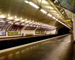 Métropolitain, station Abbesses -  Abbesses metro station, Paris