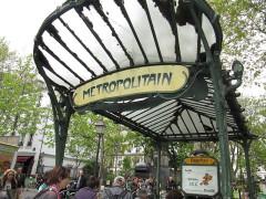 Métropolitain, station Abbesses -  Montmartre, Paris