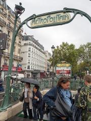 Métropolitain, station Anvers -  Paris