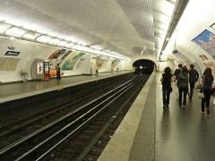 Métropolitain, station Blanche - Français:   Station Blanche de la ligne 2 du métro de Paris, France.