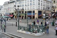 Métropolitain, station Pigalle -  Metro Pigalle, Paris.
