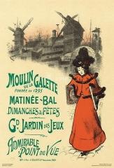 Moulin de la Galette - French illustrator and painter