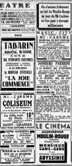 Moulin de la Galette - Français:   Annonces pour des bals du jeudi de la Mi-Carême 29 mars 1935 à Paris. http://gallica.bnf.fr/ark:/12148/bpt6k633926h/f5.image.langFR