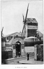 Moulin de la Galette - Français:   Clément Maurice Paris en plein air, BUC, 1897, Le Moulin de la Galette