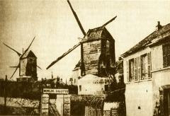 Moulin de la Galette - Français:   Le Moulin de la Galette à Paris.