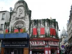 Théâtre de l'Elysée-Montmartre, ancien dancing -  This file has no description, and may be lacking other information.  Please provide a meaningful description of this file.
