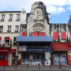 Théâtre de l'Elysée-Montmartre, ancien dancing -  L'Élysée Montmartre