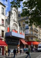 Théâtre de l'Elysée-Montmartre, ancien dancing - English: Rochechouart boulevard (n°72) - Paris