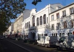 Ancien théâtre Victor Hugo, cinéma Trianon -  Le Trianon vue du metro anvers de Jour