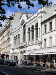 Ancien théâtre Victor Hugo, cinéma Trianon - English: Boulevard de Rochechouart (n°80) - Paris