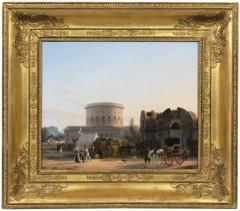 Ancienne barrière d'octroi de la Villette ou rotonde de la Villette -