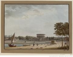 Ancienne barrière d'octroi de la Villette ou rotonde de la Villette - French engraver