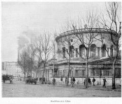 Ancienne barrière d'octroi de la Villette ou rotonde de la Villette - Français:   Clément Maurice Paris en plein air, BUC, 1897, Rond-Point de la Vilette