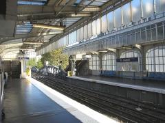 Métropolitain, station Jaurès -  Métro de Paris, Station Jaures (ligne 2), Paris, France