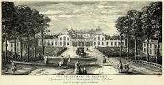 Hospice Debrousse - Français:   Le château, vu des grilles