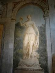 Hospice Debrousse - Français:   Peinture murale représentant la déesse Flore (par Henri Piètre), salon du Pavillon de l\'Ermitage, Paris XXème arrondissement, France