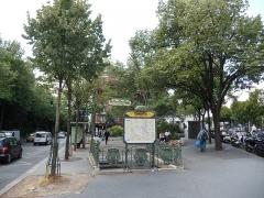 Métropolitain, station Gambetta -  20e Arrondissement, Paris