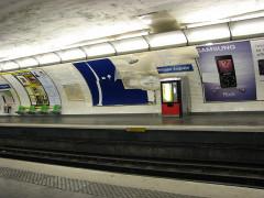 Métropolitain, station Philippe-Auguste -  Philippe Auguste metro station