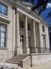 Pavillon dit Pompadour - English: Vue du pavillon Carré de Baudouin à Paris